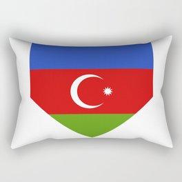 Azerbaijan flag Rectangular Pillow