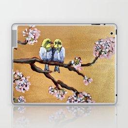 Cherry Blossom Chicks Laptop & iPad Skin