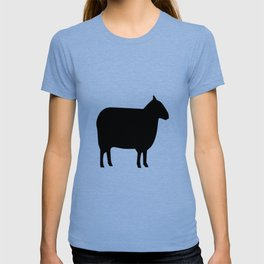 Sheep Silhouette T-shirt