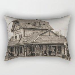 Waiting in Style Rectangular Pillow