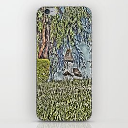 A Middle Ages Church iPhone Skin
