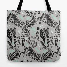 Ink jungle leaves Tote Bag