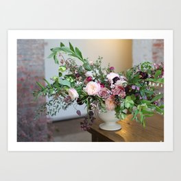 FLOWER DESIGN 10 Art Print
