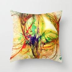 Spiralis arts Throw Pillow