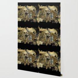 African Meerkat Trio Wallpaper