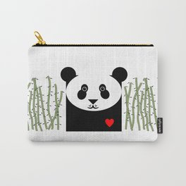 Panda Pattern Carry-All Pouch