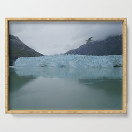 Glacier Bay National Park Margerie Glacier Alaska Serving Tray