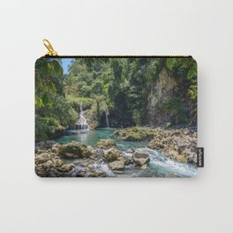Waterfalls at Semuc Champey Carry-All Pouch