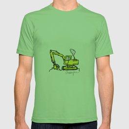 Construction Cartoon T-shirt