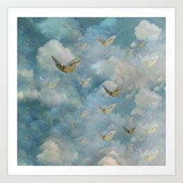 """""""Heaven & butterflies"""" Art Print"""