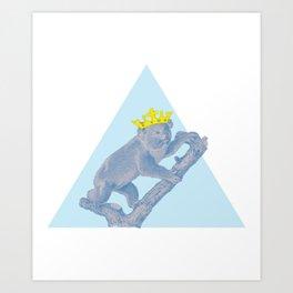 i are ur Koala King Art Print