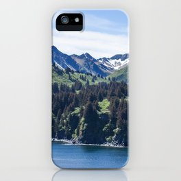 Three Sisters Mountains Photography Print iPhone Case