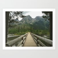 Hiking in Grand Teton Art Print