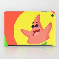 patrick iPad Cases featuring Patrick Star by Eyetoheart