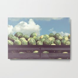 watermelons, immokalee Metal Print