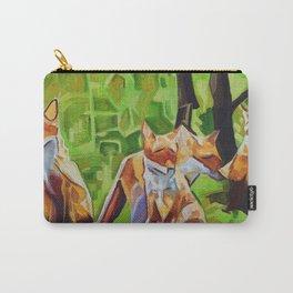 Fox Cub Four Carry-All Pouch