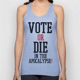 Vote Apocalypse Unisex Tank Top