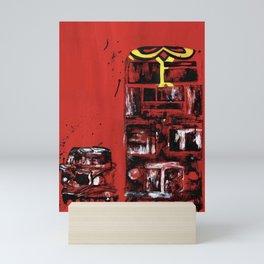 ICONIC LONDON TRANSPORT Mini Art Print