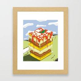 Lasagna is the BEST Framed Art Print