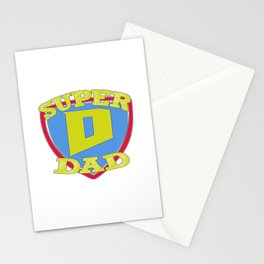 SUPER DAD Stationery Cards