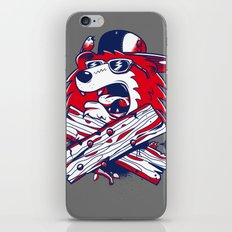 Old School Bear iPhone & iPod Skin