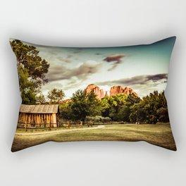 Southwest Chimney Rock Vortex Sedona Arizona Rectangular Pillow