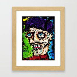 Self -Portrait as All That Is Wrong In The World Framed Art Print