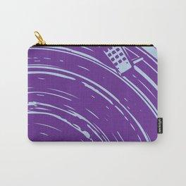 vinyl purple Carry-All Pouch