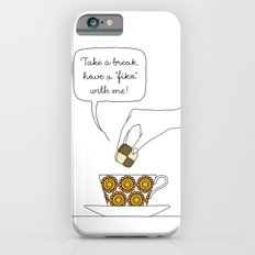 time for fika Slim Case iPhone 6s