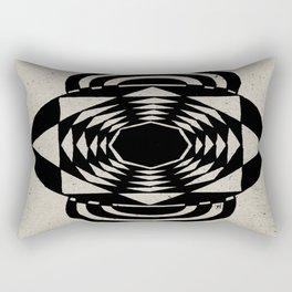 Octagonal Illusion Rectangular Pillow