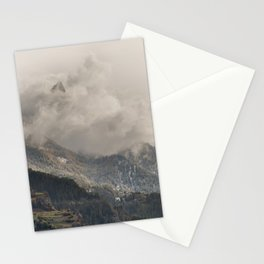 The Alps 3 Stationery Cards