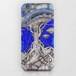 PLATFORM CITY iPhone Case