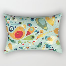 Wobbly Spring Rectangular Pillow