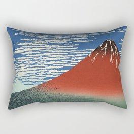 South Wind, Clear Sky (Gaifū kaisei or 凱風快晴) Rectangular Pillow