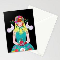 young baboushka Stationery Cards