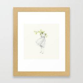 El Silencio Framed Art Print