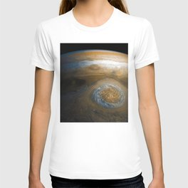 Jupiter's Great Red Spot from Junocam (2017) T-shirt