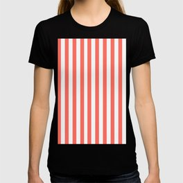 LIVING CORAL STRIPES PANTONE COLOR OF THE YEAR 2019 T-shirt