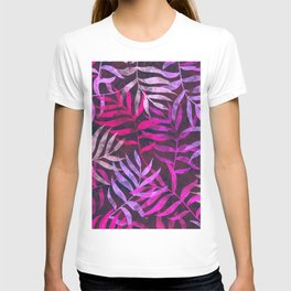 Watercolor Tropical Palm Leaves VI T-shirt