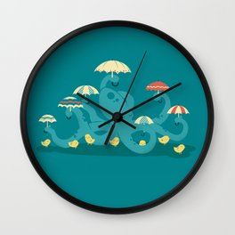 Keepin' the Chicks Dry Wall Clock