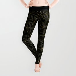 Honeycomb Home Leggings