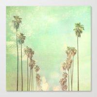 la Canvas Prints featuring Los Angeles. La La Land photograph by Myan Soffia