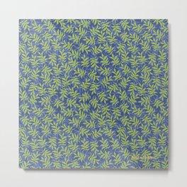 I See Leaves of Green Metal Print