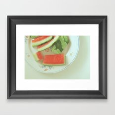 tasted Framed Art Print