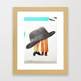 Hat Adoration  Framed Art Print