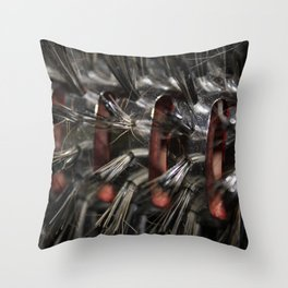 Brush Throw Pillow