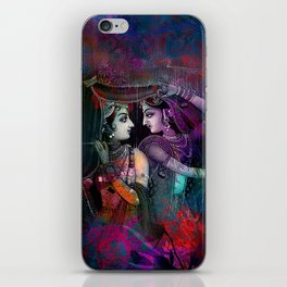 Radha Krishna- the divine iPhone Skin