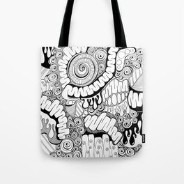 Viscera Phantasma Doodle Tote Bag