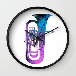 euphonium music Wall Clock