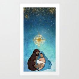 Christmas Nativity - Prince of Peace Art Print